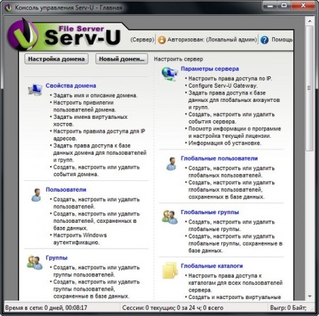 Serv-U File Server Platinum 12.1.0.8