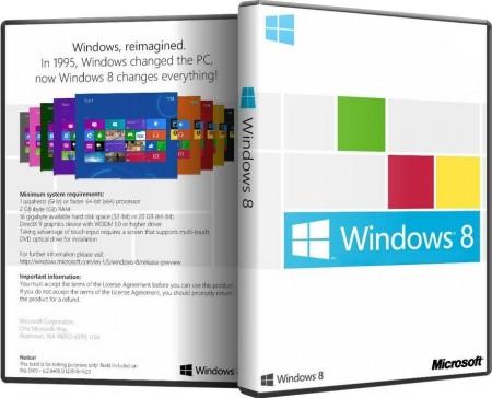 Microsoft Windows 8 Professional VL & Enterprise RTM x86-х64 RU SMG