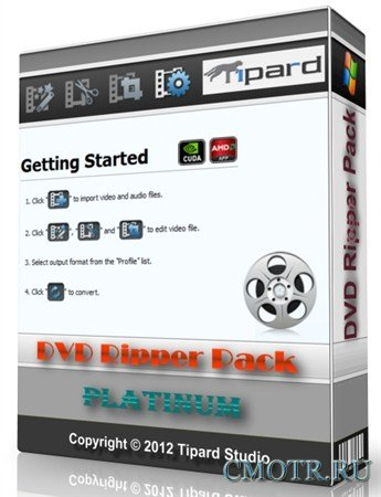 Tipard DVD Ripper Pack Platinum 6.1.36 Portable by SamDel
