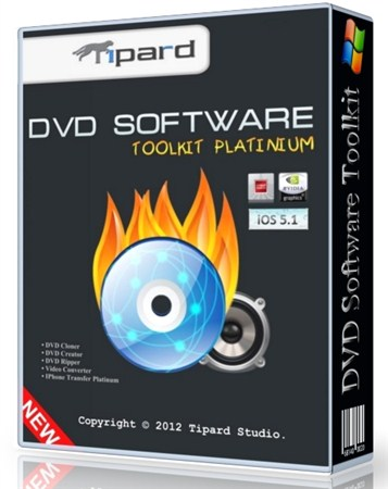 Tipard DVD Software Toolkit Platinum 6.1.52.10815 Portable by SamDel