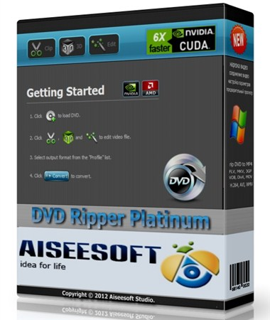 Aiseesoft DVD Ripper Platinum 6.3.20.12533 Portable by SamDel