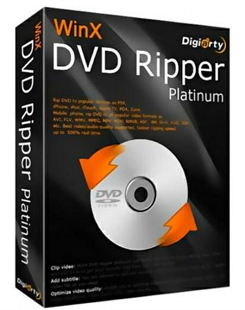 WinX DVD Ripper Platinum 6.9.3 Build 20121019