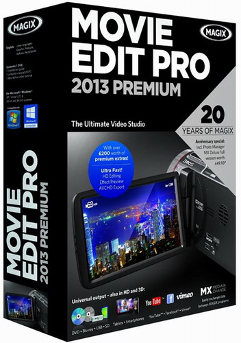 MAGIX Movie Edit Pro 2013 Premium 12.0.1.4 (2012) PC