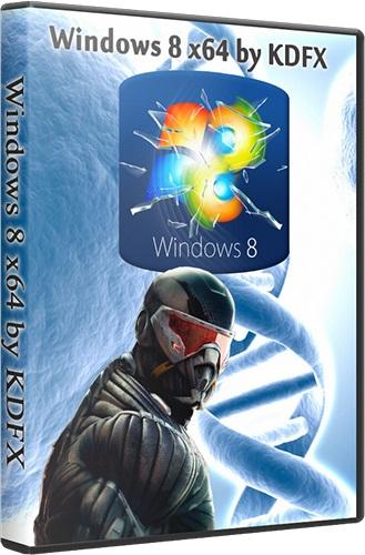 Windows 8 x64 by KDFX 6.2 9200.16384 (2012) [Русский]