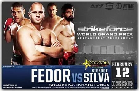 Strikeforce - Фёдор Емельяненко vs. Антонио Сильва(2011)SATRip
