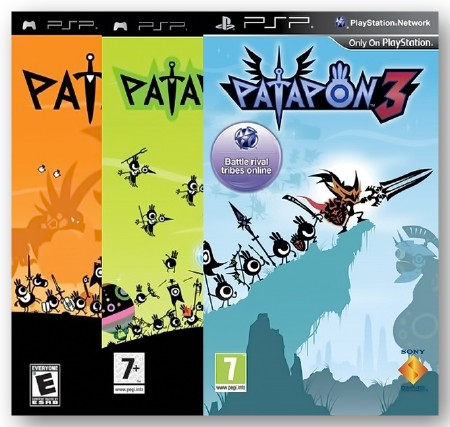 Patapon - Gold Collection (2007-2011) (RUS) (PSP)