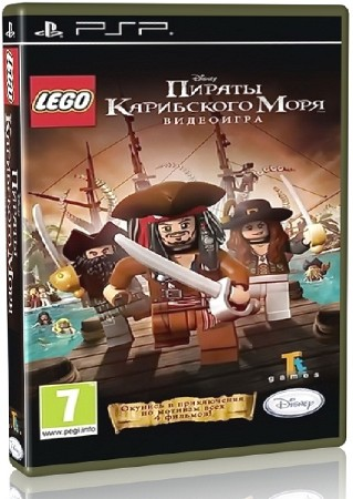 LEGO Pirates of the Caribbean The Video Game (2011) (RUS) (PSP)