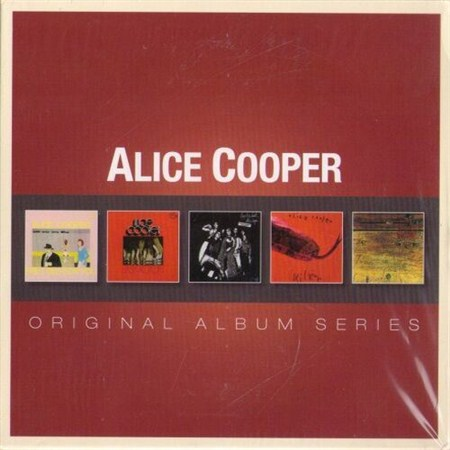 Alice Cooper - Original Album Series (2012) FLAC