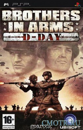 Brothers In Arms D-Day (2006) (ENG) (PSP)