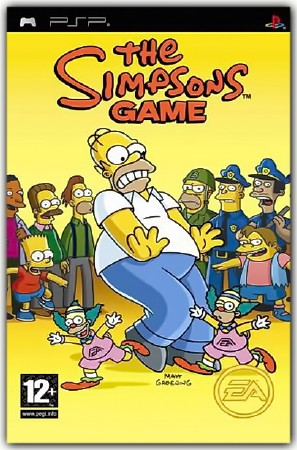 The Simpsons Game (2007) (RUS) (PSP)