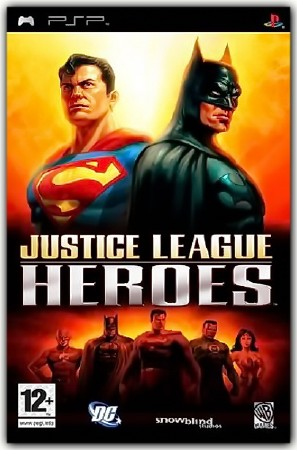Justice League Heroes (2006) (RUS) (PSP)