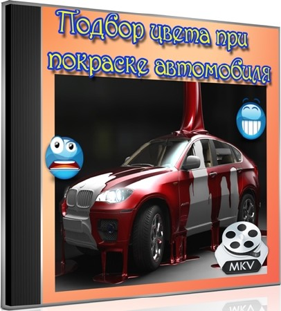 Подбор цвета при покраске автомобиля (2012) DVDRip