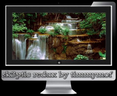 Темы для Windows 8 Стремительныые водопады