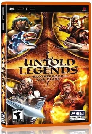 Untold Legends Brotherhood of the Blade (2005) (RUS) (PSP)