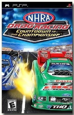 NHRA Drag Racing Countdown To The Championship (2007) (ENG) (PSP)
