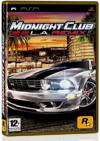Midnight Club L.A. Remix (2008) (ENG) (PSP)