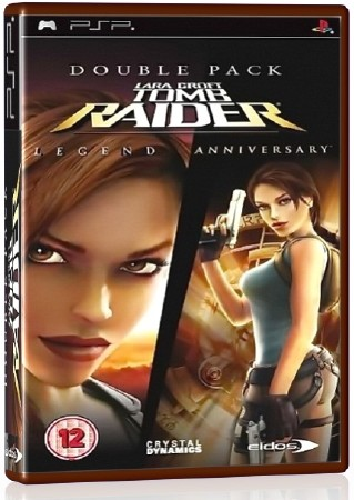 Tomb Raider Double Pack Collection (2006-2007) (RUS) (PSP)