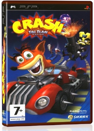 Crash Tag Team Racing (2005) (ENG) (PSP)