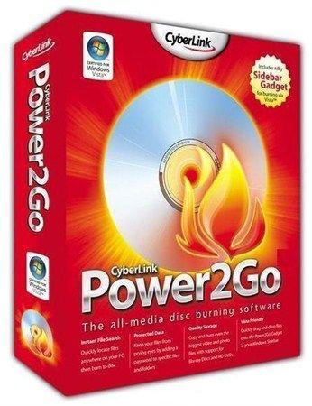 CyberLink Power2Go 8 Essential v 8.0.0.2126a (2012 ML/RUS)