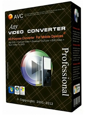 Any Video Converter Professional 3.5.8.0
