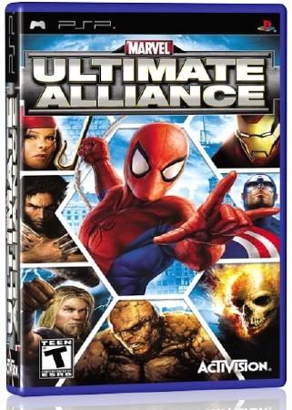 Marvel Ultimate Alliance (2006) (ENG) (PSP)