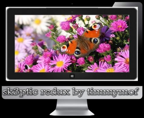 Темы для Windows 8 Изящные бабочки