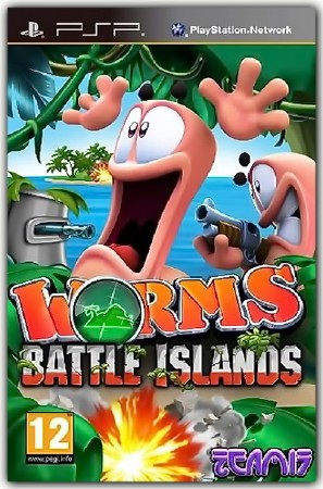 Worms Battle Islands (2011) (ENG) (PSP)