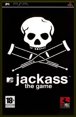 Jackass the Game (2008) (RUS) (PSP)