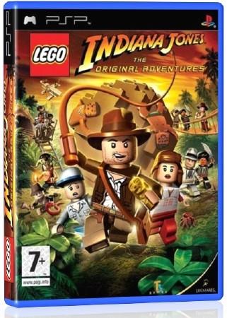 LEGO Indiana Jones The Original Adventures (2008) (RUS) (PSP)