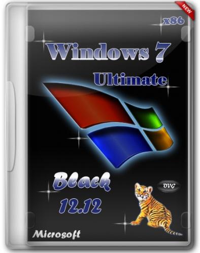 Windows 7 Ultimate SP1 x86 Black by OVGorskiy® v.12.12 [2012, Русский]