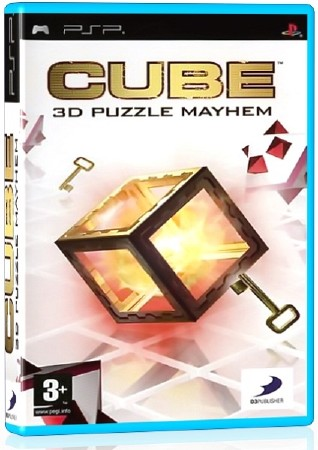 Cube:3D Puzzle Mayhem (2007) (ENG) (PSP)