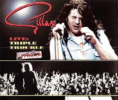 Gillan - Live Triple Trouble 3CD (2009) MP3