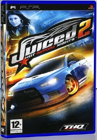 Juiced 2 Hot Import Nights (2008) (RUS) (PSP)