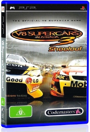 V8 Supercars 3 Shootout (2009) (ENG) (PSP)