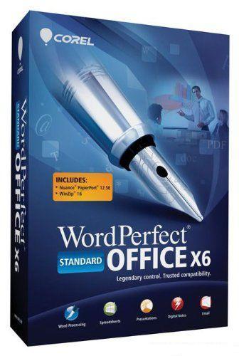 Corel WordPerfect Office X6 16.0.0.427 SP2 (2012)