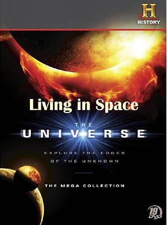 Вселенная. Проживание в космосе / The Universe. Living In Space (2009) BDRip