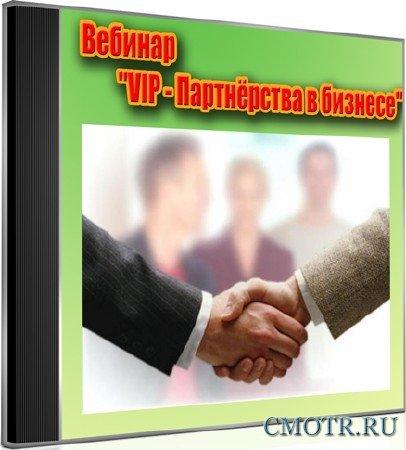 Вебинар VIP - Партнёрства в бизнесе (2012) DVDRip