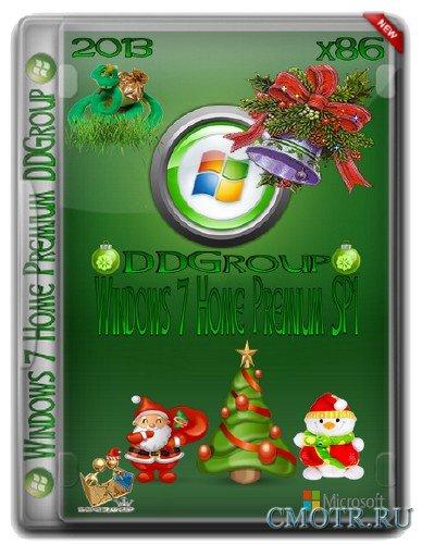 Windows 7 SP1 Home Premium x86 DDGroup [v.2] (RUS) 03.01.13