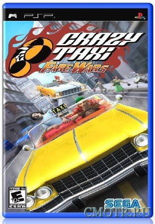 Crazy Taxi Fare Wars 2.01 (2010) (ENG) (PSP)
