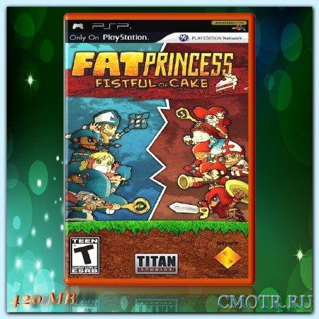 Fat Princess : Fistful of Cake (2010) (RUS) (PSP)