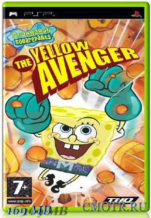 SpongeBob Squarepants The Yellow Avenger (2006) (ENG) (PSP)