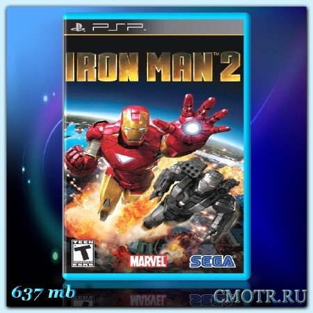Iron Man 2 (2010) (ENG) (PSP)