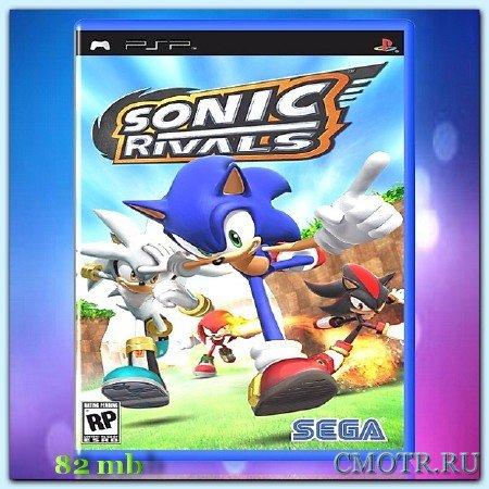 Sonic Rivals (2007) (RUS) (PSP)
