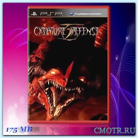 Creature Defense (2009) (ENG) (PSP)
