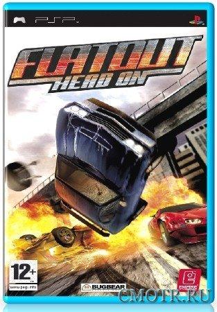 FlatOut Head On (2008) (RUS) (PSP)