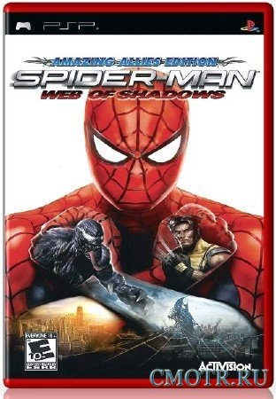Spider-Man Web of Shadows (2008) (RUS) (PSP)