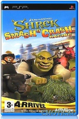 Shrek: Smash Crash Racing (2006) (RUS) (PSP)