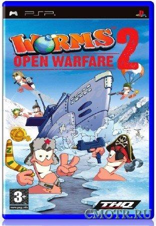 Worms Open Warfare 2 (2007) (RUS) (PSP)