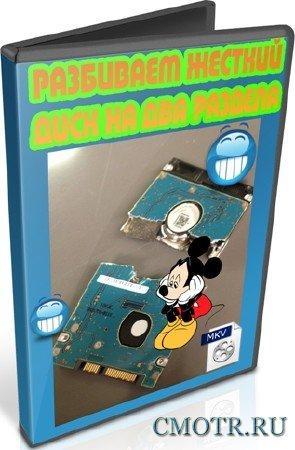 Разбиваем жесткий диск на два раздела (2012) DVDRip