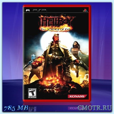 Hellboy The Science of Evil (2008) (RUS) (PSP)